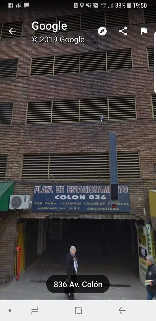 Córdoba (micro centro) cochera en venta