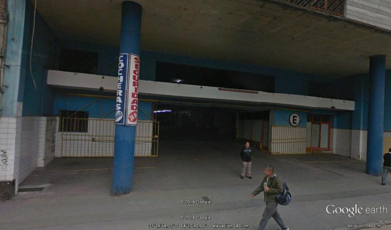 Cochera cubierta AV. OLMOS Y AV. MAIPU en edificio de cocheras